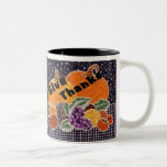"Thanksgiving ""Give Thanks"" Coffee Mug"