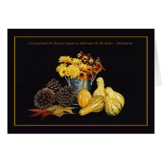 Thanksgiving - Gratitude Card