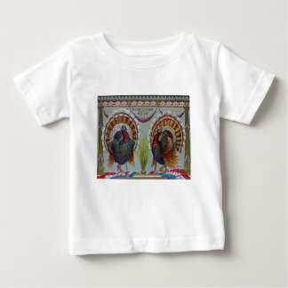 Thanksgiving Greetings 1906 Baby T-Shirt