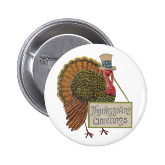Thanksgiving Greetings button