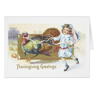 Thanksgiving Greetings Greeting Cards