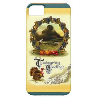 Thanksgiving greetings Out in the fields iPhone SE/5/5s Case