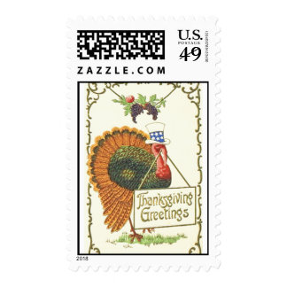 Thanksgiving Greetings Postage stamps