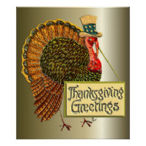 Thanksgiving Greetings Poster