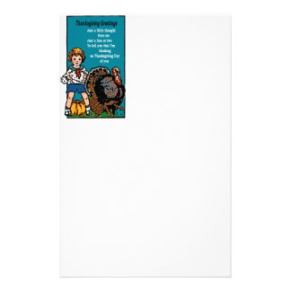 Thanksgiving Greetings Stationery