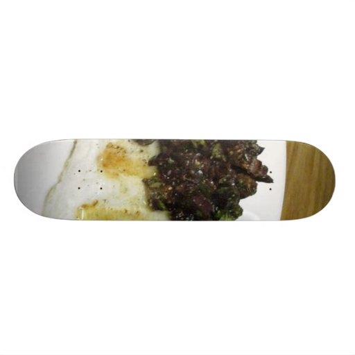 Thanksgiving Grilled Cod Fig Taupenade Skateboard