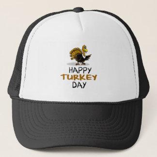 THANKSGIVING happy turkey day Trucker Hat
