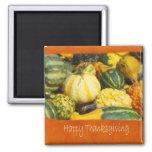 Thanksgiving Harvest 2 - Happy Thanksgiving Refrigerator Magnet
