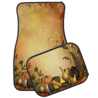 Thanksgiving Harvest Car Mat Full Set