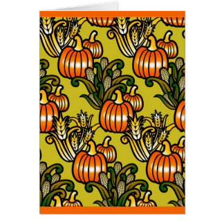 Thanksgiving Harvest Greeting Card