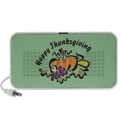Thanksgiving Harvest iPhone Speaker