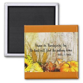 Thanksgiving Harvest Fridge Magnet