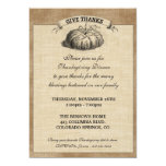 Thanksgiving Harvest Party Invitation