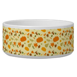 Thanksgiving Harvest Pattern Bowl