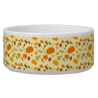 Thanksgiving Harvest Pattern Bowl