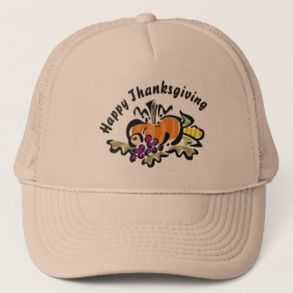 Thanksgiving Harvest Trucker Hat