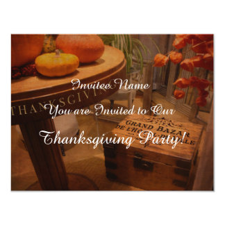 Thanksgiving Hideaway Card