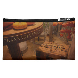 Thanksgiving Hideaway Makeup Bag