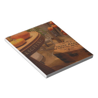 Thanksgiving Hideaway Notepad
