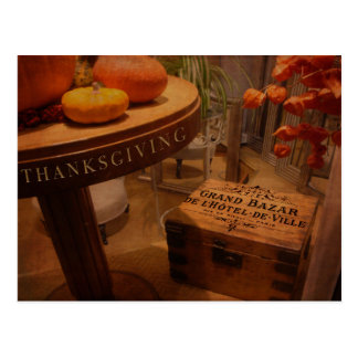 Thanksgiving Hideaway Postcard