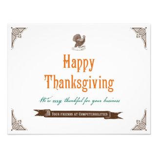 Thanksgiving Holiday Card
