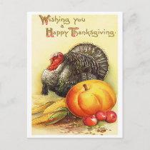 Thanksgiving Holiday Postcard