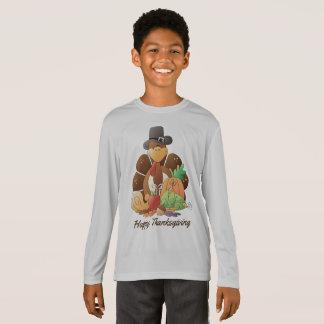 Thanksgiving Holiday turkey kids t-shirt