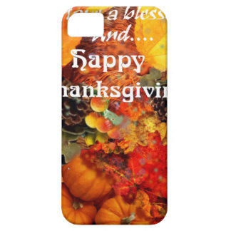 Thanksgiving horn of plenty iPhone SE/5/5s case