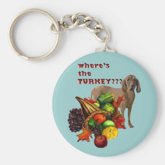 Thanksgiving HOUND Keychain