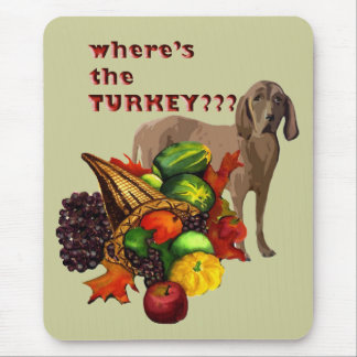Thanksgiving HOUND Mouse Pad