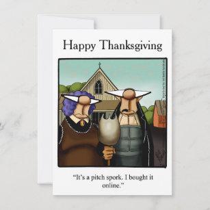 Thanksgiving Humor Dinner Invitations