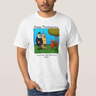 """Thanksgiving Humor """"Heck Yeah!"""" Tee Shirt"""