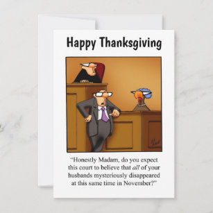 "Thanksgiving Humor Invitations ""Spectickles"""