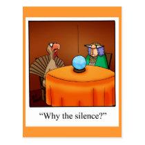"Thanksgiving Humor Postcard ""Spectickles"""