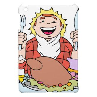 Thanksgiving Hungry Man Feast iPad Mini Covers