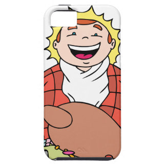 Thanksgiving Hungry Man Feast iPhone SE/5/5s Case