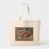 Thanksgiving Inside Out Mushrooms Items Large Tote Bag