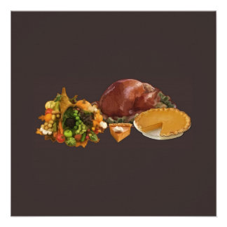 Thanksgiving Personalized Invitations
