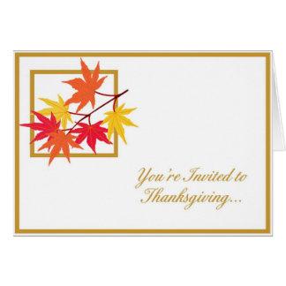 Thanksgiving Invitation - 1