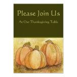 "Thanksgiving Invitation 5"" X 7"" Invitation Card"