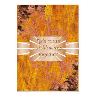 Thanksgiving Invitations template