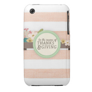 thanksgiving iPhone 3 cover