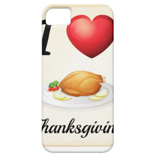 thanksgiving iPhone SE/5/5s case
