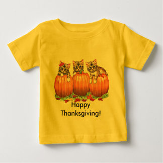 Thanksgiving is the Cat's Meow Baby T-Shirt