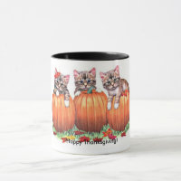 Thanksgiving is the Cat's Meow Mug