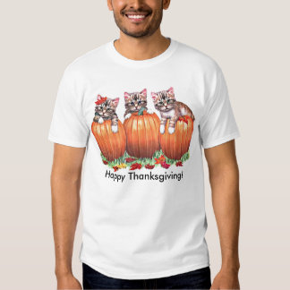 Thanksgiving is the Cat's Meow Tee Shirt
