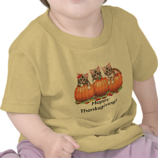Thanksgiving is the Cat's Meow T-shirts