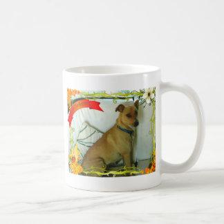 Thanksgiving items coffee mug