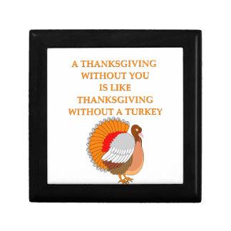 thanksgiving joke jewelry box