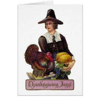 Thanksgiving Joy Greeting Card